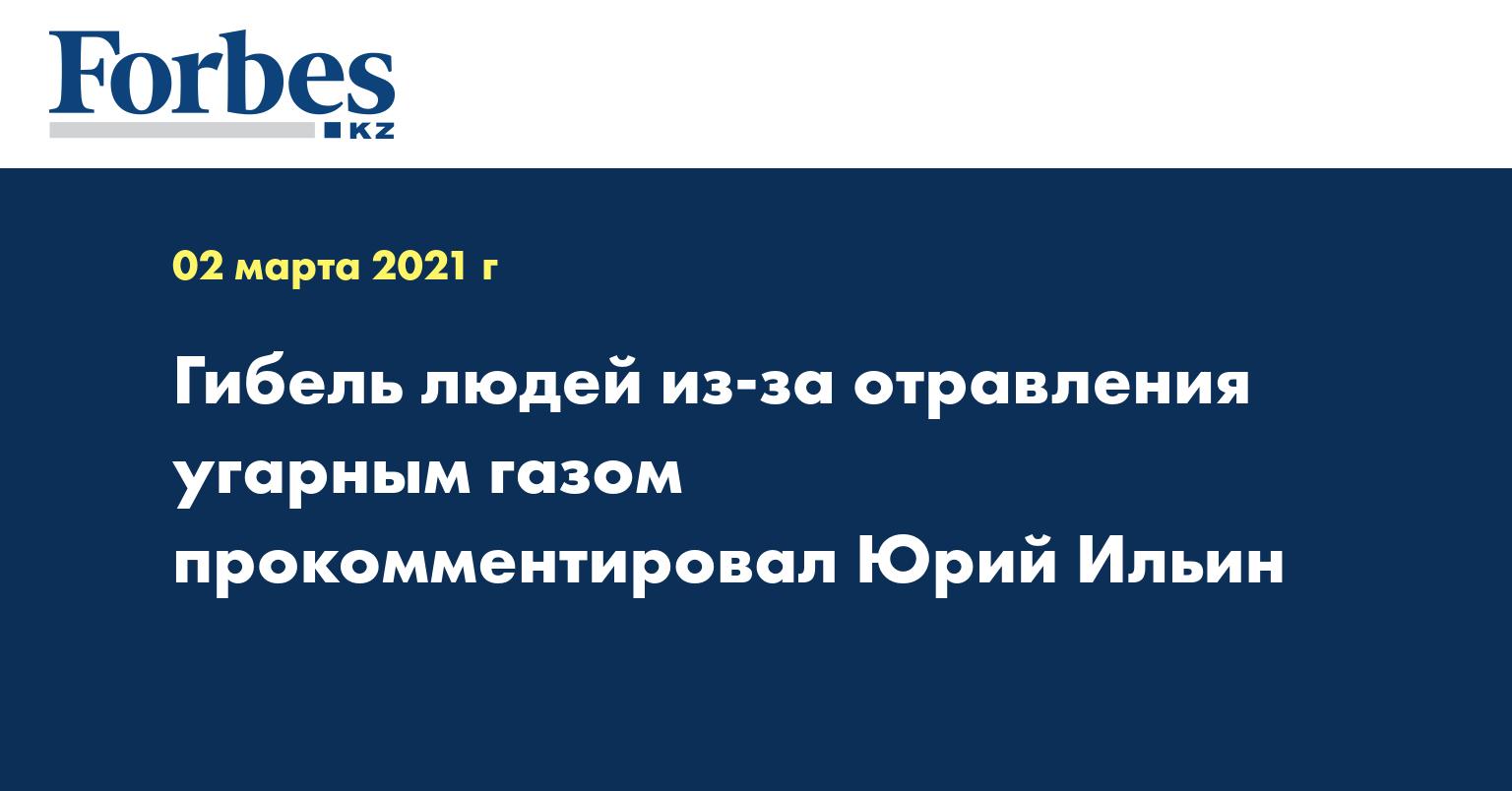 Гибель людей из-за отравления угарным газом прокомментировал Юрий Ильин