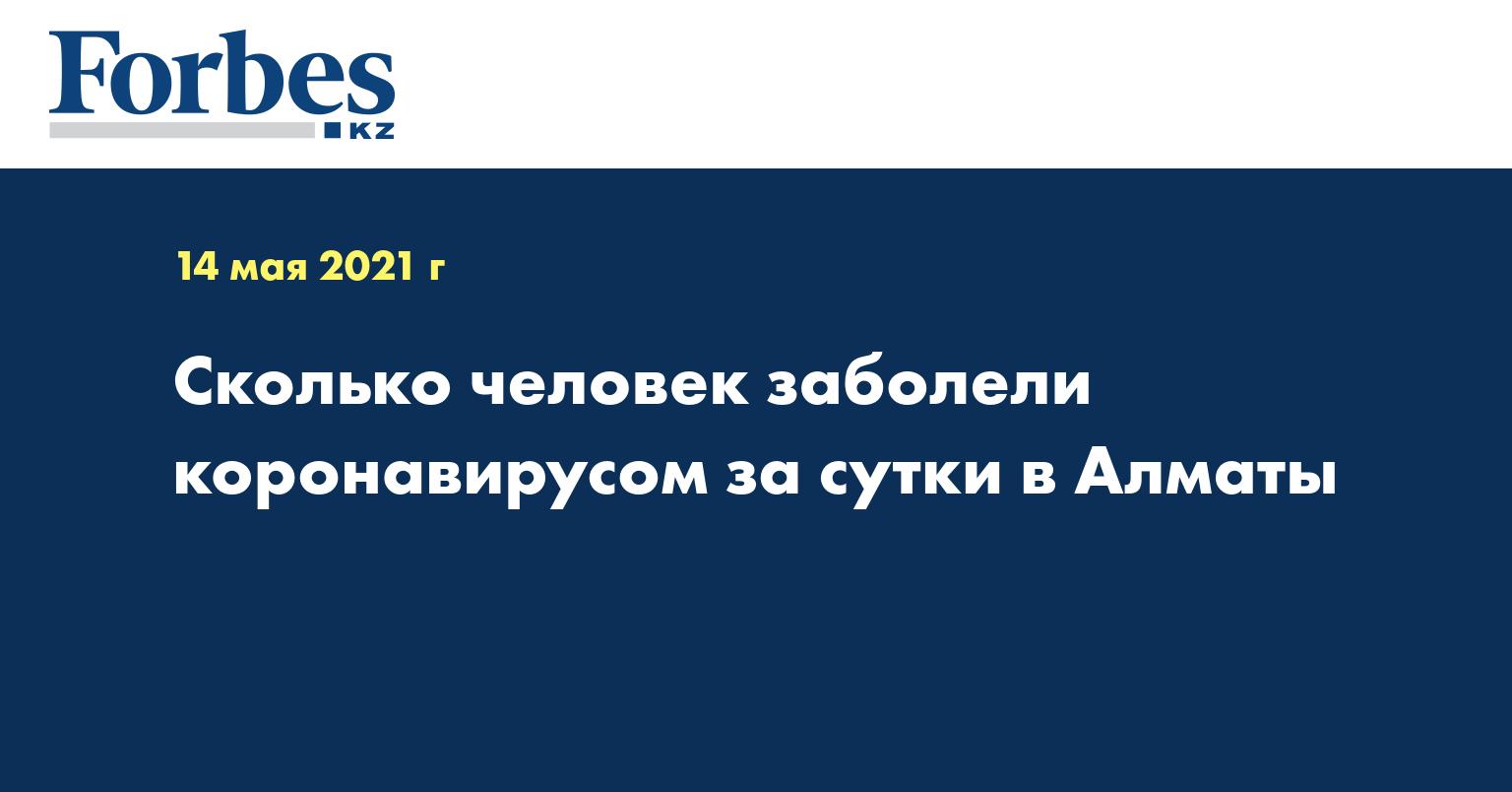 Сколько человек заболели коронавирусом за сутки в Алматы