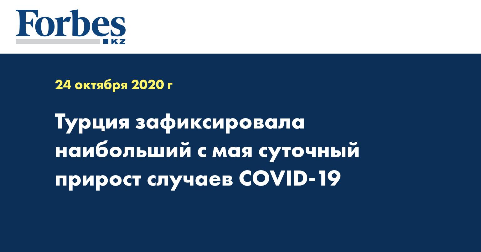 Турция зафиксировала наибольший с мая суточный прирост случаев COVID-19